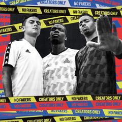 Die wichtigsten Hersteller von Fußballschuhen – adidas-Exhibit-Fußballschuhe