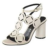 Sandaletten mit Absätzen in unterschiedlichsten Formen – Bruno Premi Sandale