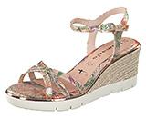 Sandaletten von namhaften Marken online kaufen – Tamaris Keilsandale