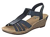 Schick durch die warme Jahreszeit: Modische Sandalen – Rieker Keilsandale